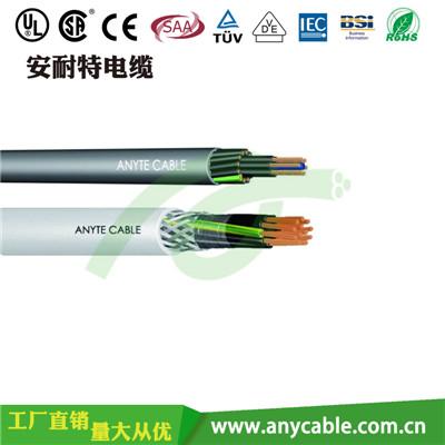 符合UL/CSA AWM/MTW认证 UL2586聚氯乙烯多芯可选屏蔽线