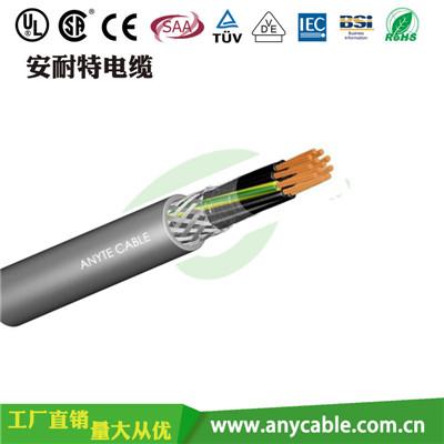 KYJVP交联聚乙烯绝缘聚氯乙烯护套屏蔽控制电缆