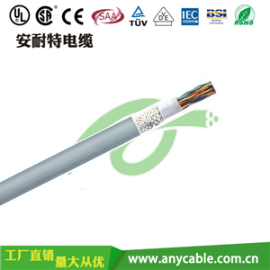 PVC多芯雙絞屏蔽控製電纜