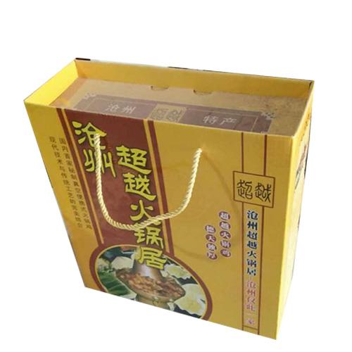 火锅鸡礼品盒