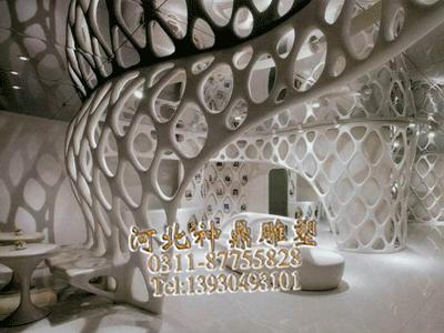 grg石膏造型墙