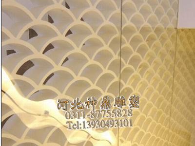 石家庄GRG石膏造型墙