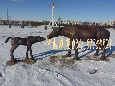 铜马雕塑制作