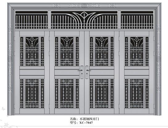 【热】恩施豪华不锈钢门 宜昌不锈钢门