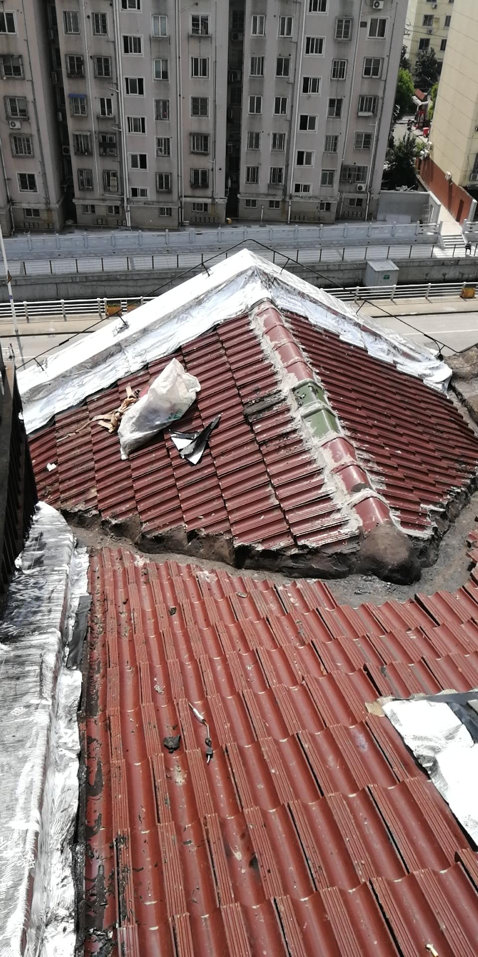 瓦屋面防水