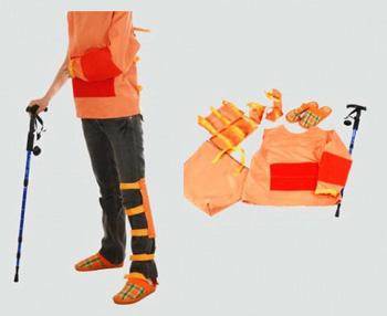 BIX-H240  Elderly hemiplegic Nursing Simulation Suit