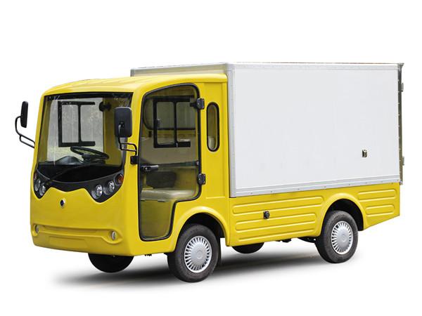 电动厢式货车