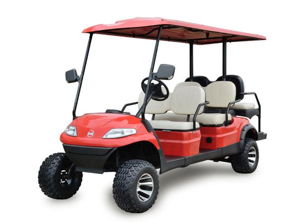 6座加高装置高尔夫观光车