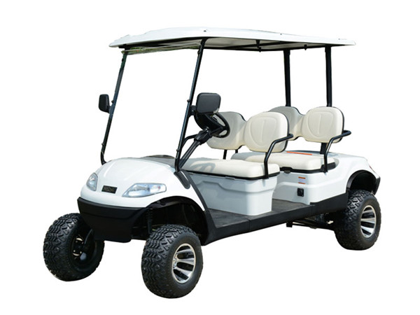 4座加高装置高尔夫观光车