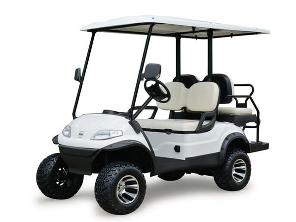 4座加高装置高尔夫球车