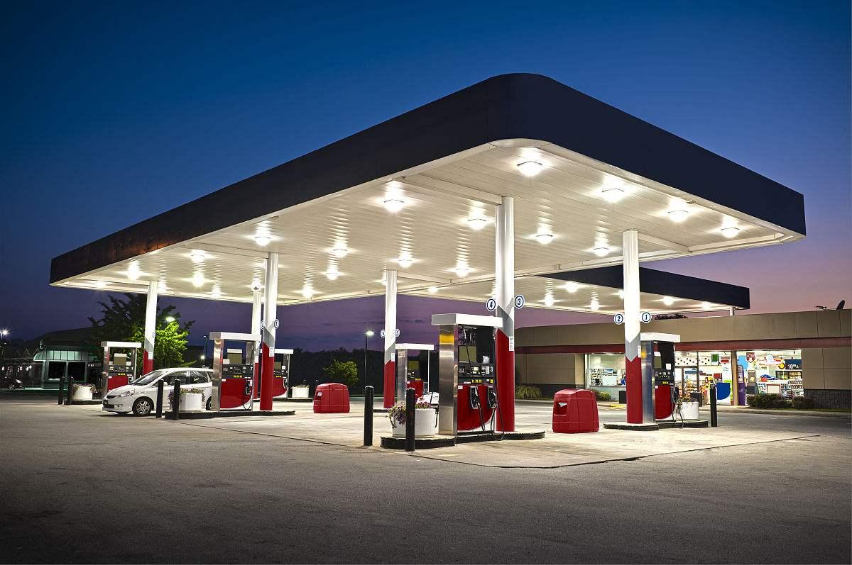 加油站管线更改