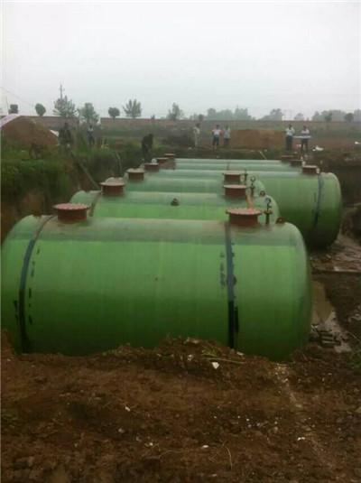 地埋式储油罐