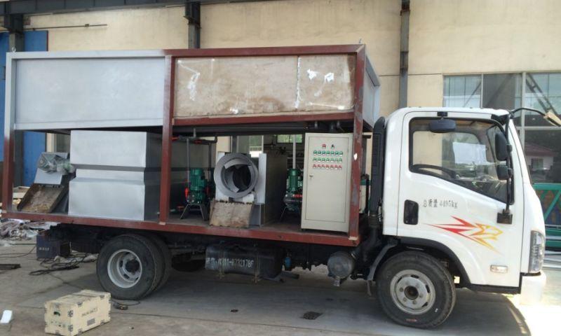 可移动式污泥脱水机