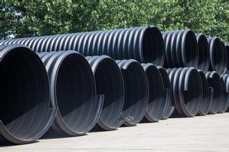 贵州HDPE钢带增强波纹管