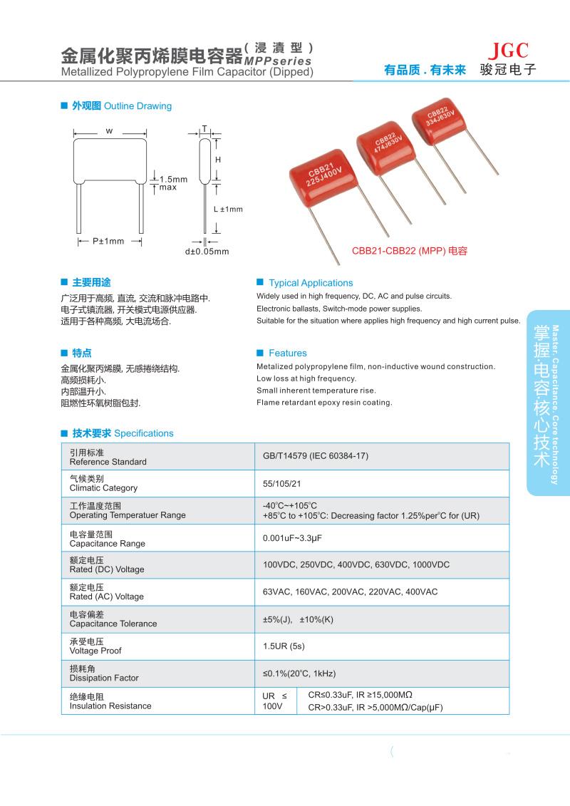 MPP电容器(图1)