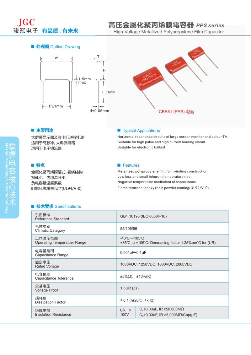 PPS电容器(图1)