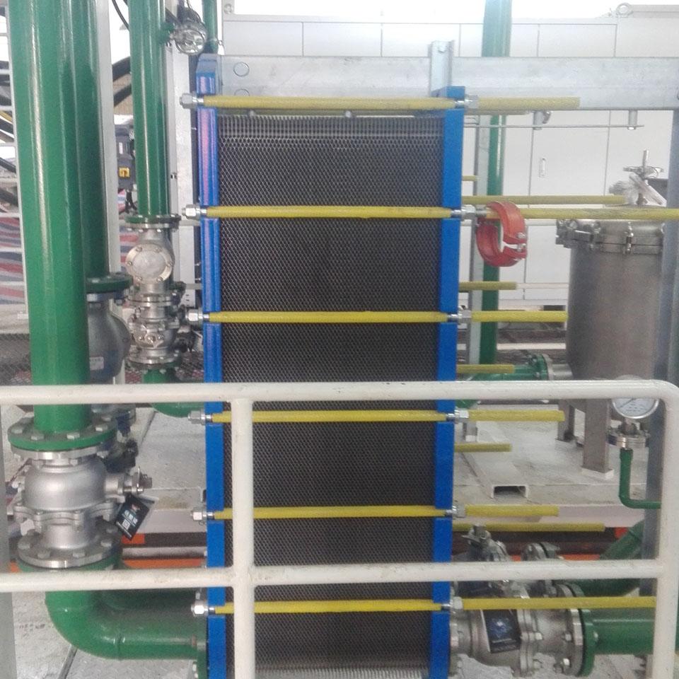 工业水冷热交换器
