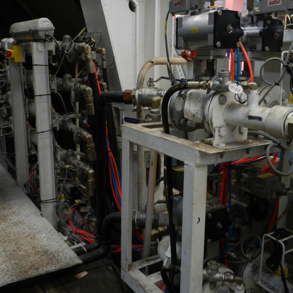 泡沫发生器管路安装