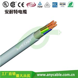 H05VV-F聚氯乙烯绝缘护套电线