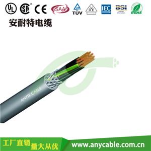 H05VVC4V5-K聚氯乙烯绝缘多芯带内护套屏蔽电线