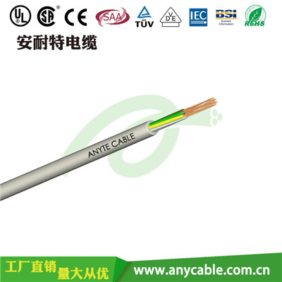 ZR- RVVYP 阻燃耐油聚氯乙烯护套屏蔽软电缆 阻燃电缆