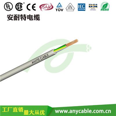 阻燃电缆,ZR-KVVR聚氯乙烯绝缘护套阻燃控制软电缆