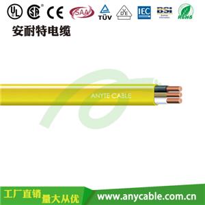 低烟无卤多芯扁护套电缆