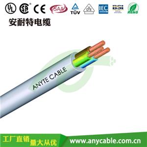 H03Z1Z1-F,H05Z1Z1-F低烟无卤绝缘护套多芯电缆