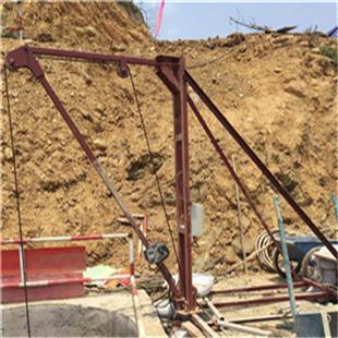 挖桩用小吊机