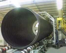 HDPE鋼帶波紋管