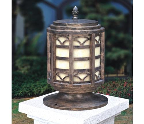 灯笼型柱头灯