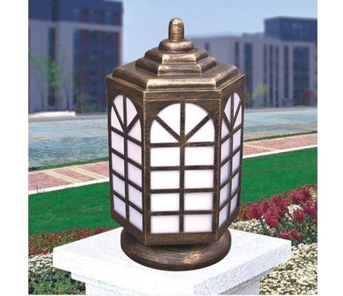塔型柱头灯