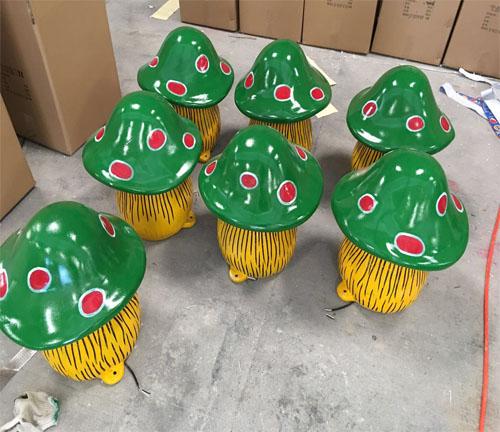 高仿真蘑菇灯饰