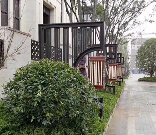 铁艺现代庭院灯