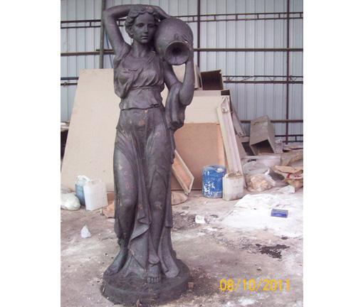美女雕塑工艺