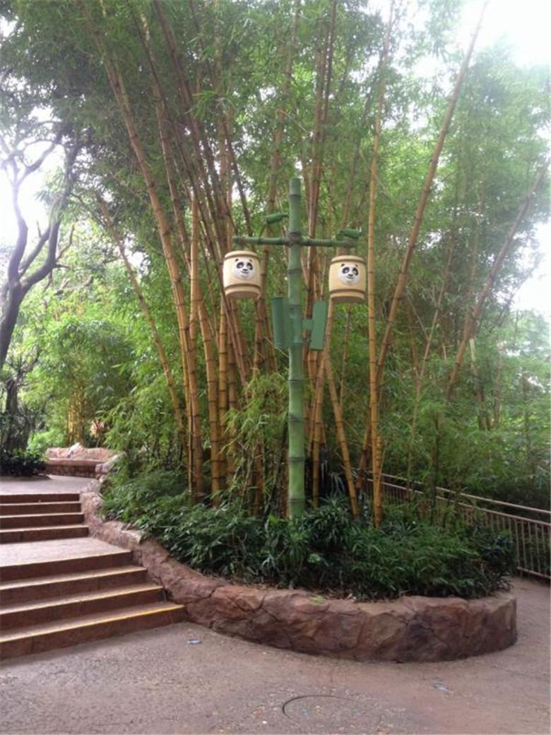 仿生态庭院灯