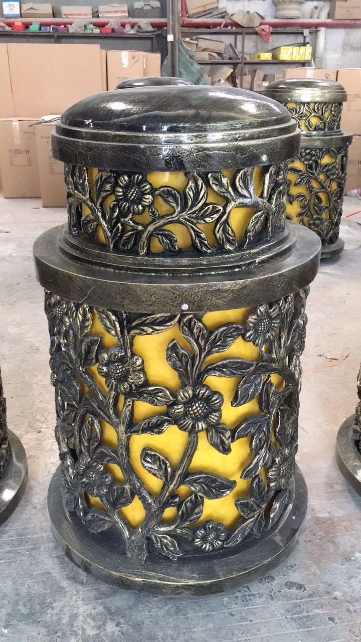 树脂玻璃钢柱头灯