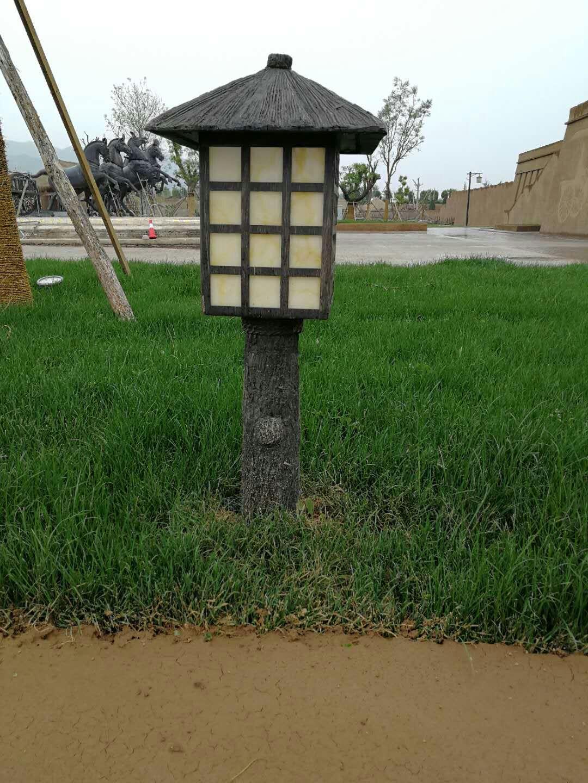 铁艺草坪灯