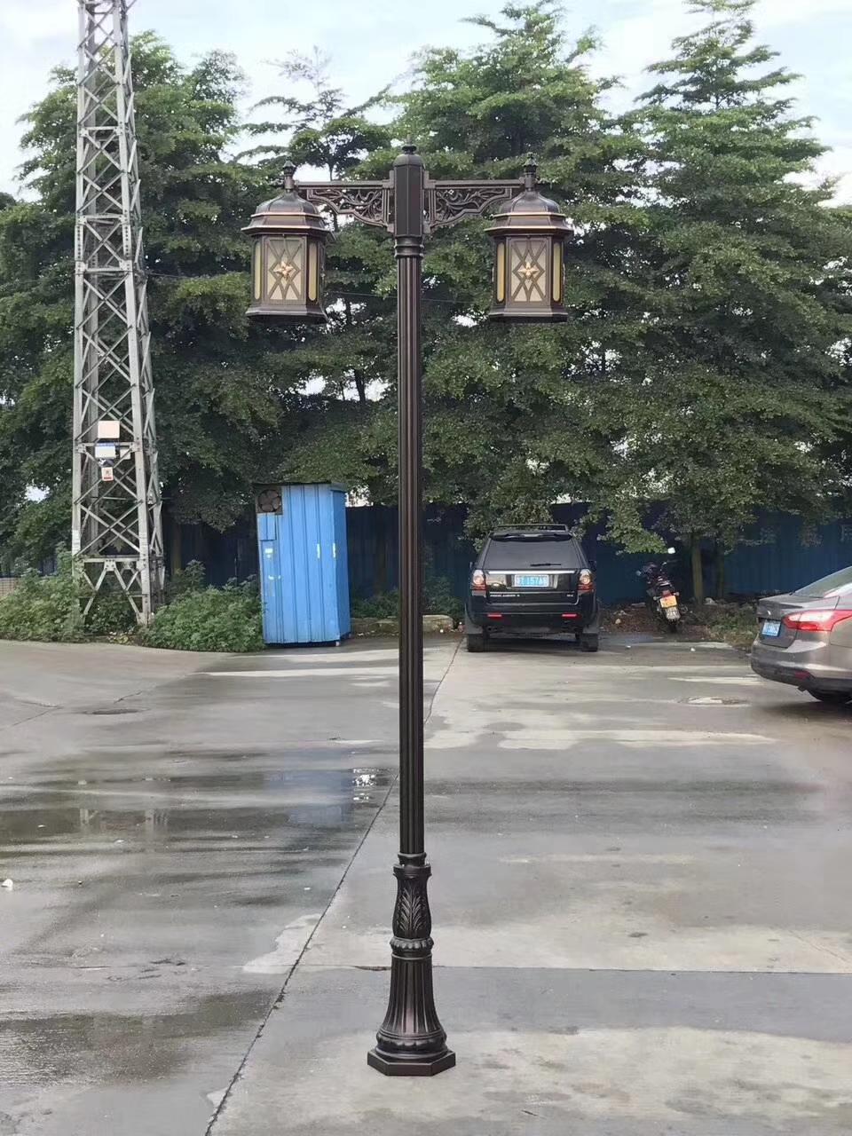 铸铝庭院灯