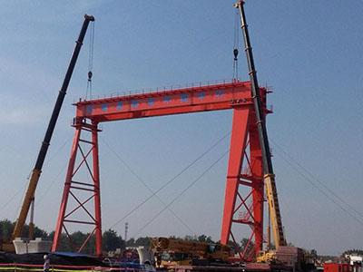 攀枝花450吨提梁机