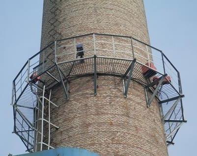 烟囱平台安装施工