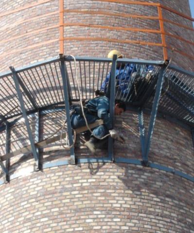 烟囱平台制作安装