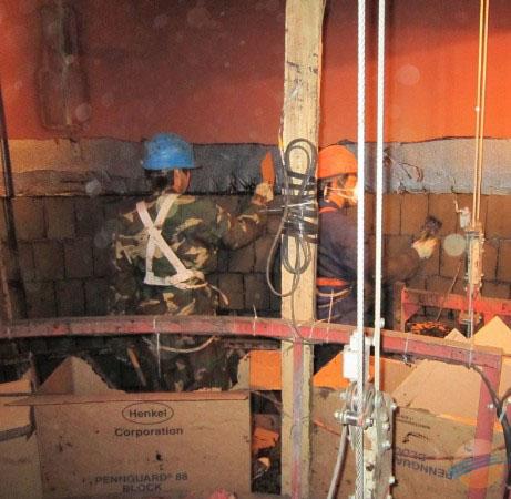 烟囱脱硫防腐施工