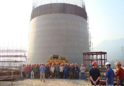 混凝土烟囱新建施工