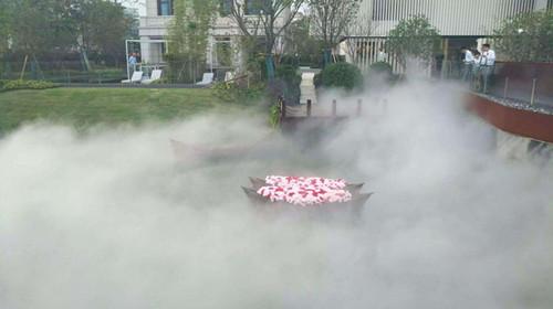人工造雾降温