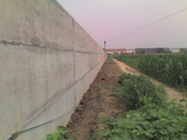 现代实体围墙