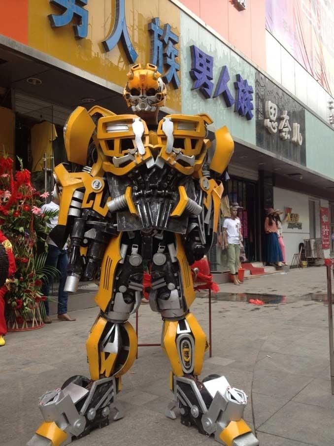 机器人服装趣味游乐设备租赁