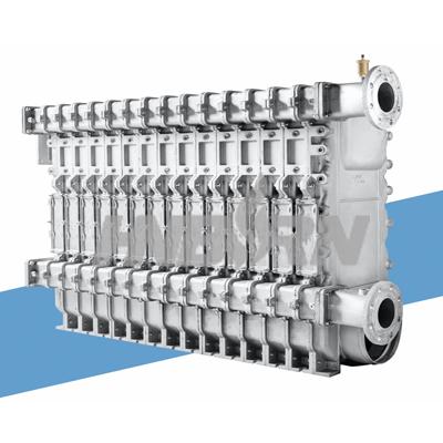 铸铝冷凝换热器