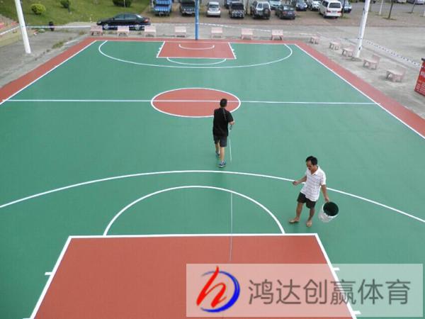 贵州篮球场地施工