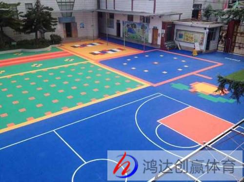 贵阳悬浮式塑胶地板